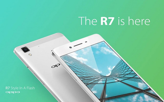 OPPO to Launch OPPO R7, Stylish Smartphone with Enhanced Camera in Pakistan
