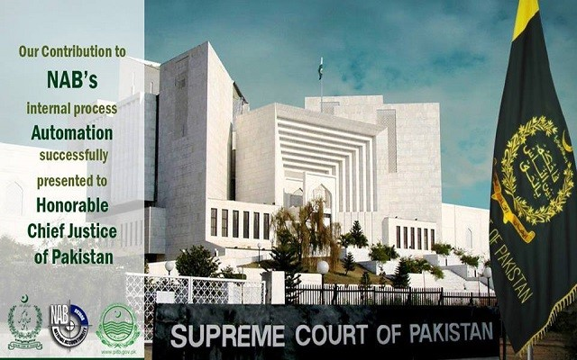 PITB Presents Contributions in NAB's Internal Process to Chief Justice of Pakistan