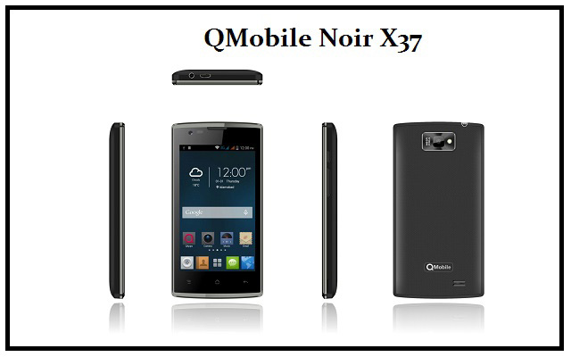 QMobile Presents Noir X37, A Powerful Multitasking 3G Smartphone only at Rs.5850