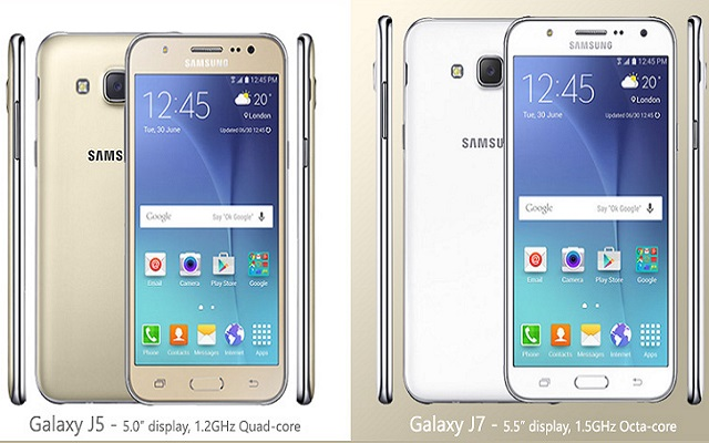 Samsung launches galaxy j series j5 and j7 in pakistan for Portable samsung j