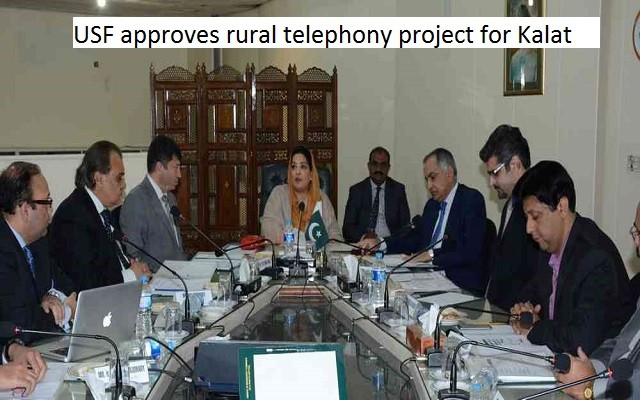 USF approves rural telephony project for Kalat