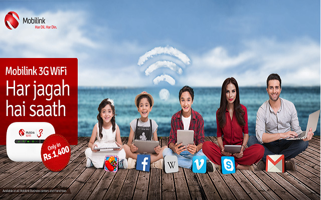 Mobilink Wifi TVC