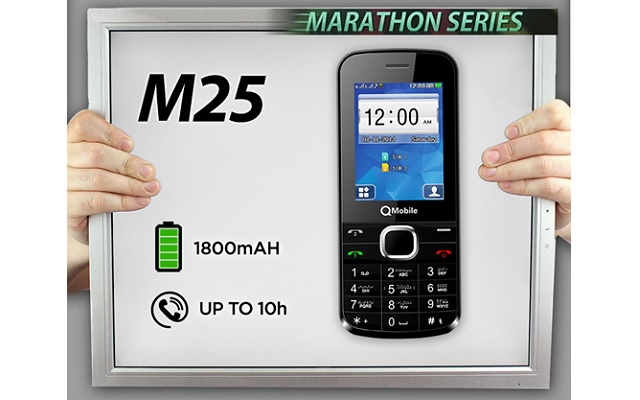 QMobile Introduces M25 with Marathon Battery at Low Price