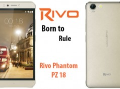 Rivo Introduces the Phantom PZ18 A Powerful Smartphone with Front Flash