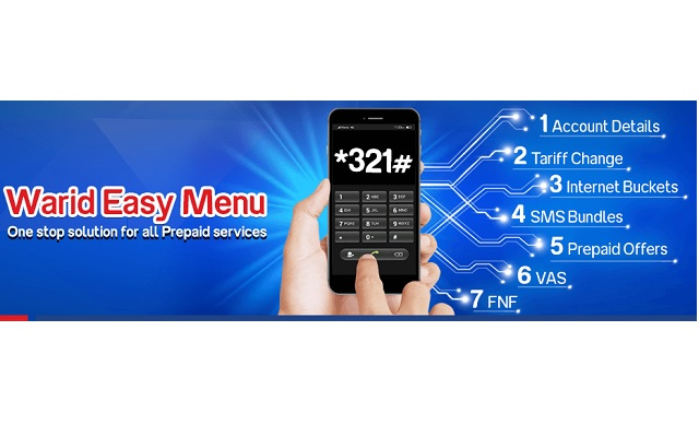 warid-introduces-prepaid-menu-over-ussd-for-prepaid-customers