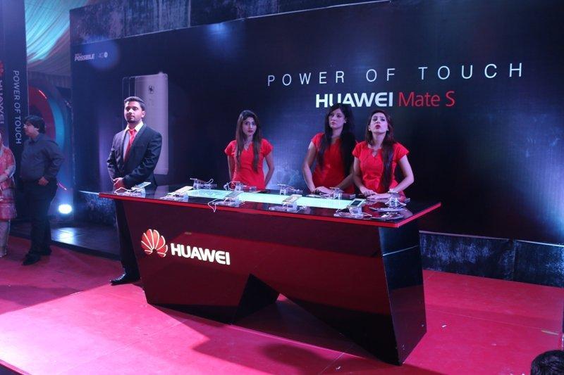 Huawei Mate S display counter