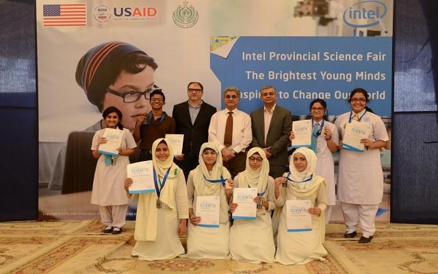 Intel Pakistan Announces Winners of the Sindh Provincial Science Fair 2015