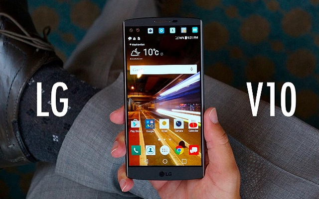 LG Introduces V10- The World's First Ultra Phone