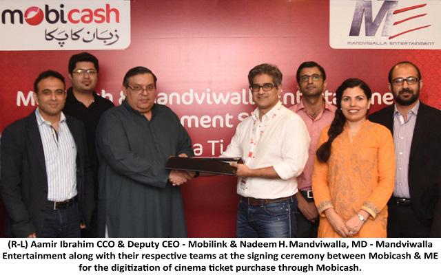 Mobicash Digitizing Movie Ticket Purchase with Mandviwalla Entertainment