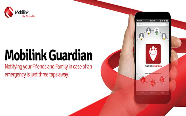 Mobilink Introduces Guardian App: Informing Friends and Family in Emergency is Just Three Taps Away