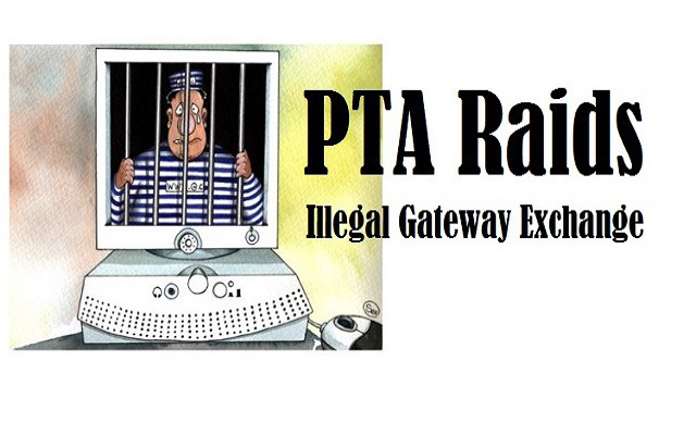 PTA Raides Illega Gateway Exchange in Islamabad
