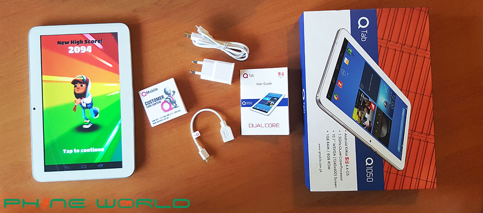 QTab Q1050 Tablet Review
