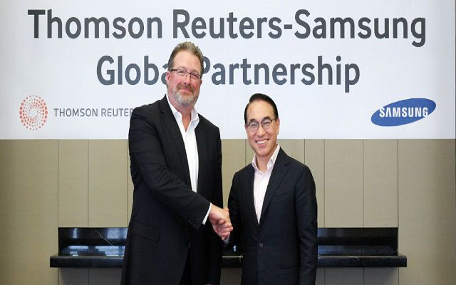 Samsung Electronics Collaborates with Thomson Reuters to Explore Joint Opportunities in B2B Business