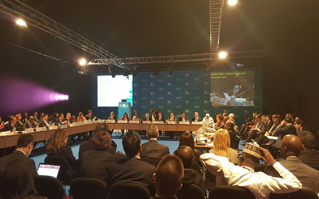 Anusha Rehman Attends the Ministerial Roundtable At the 2nd Day of ITU Telecom World 2015