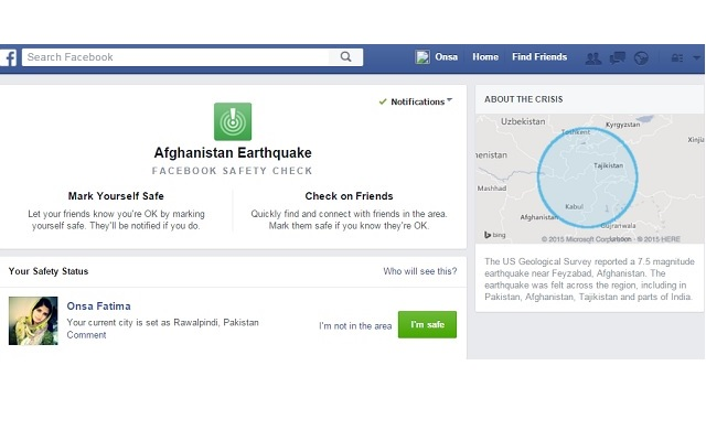 facebook-checks-the-safety-status-after-afghanistan-earthquake