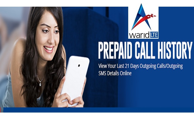 Now Get the Call History of Last 21 Days From Warid Call History