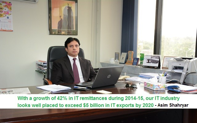 Exclusive Interview of Asim Shahryar, MD PSEB Pakistan