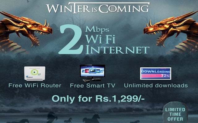 PTCL Introduces Broadband Winter Promotion Packages