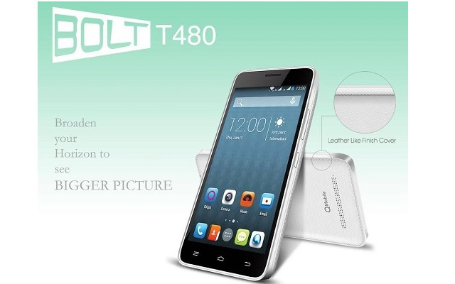 QMobile Introduces Bolt T480 at an Affoardable Price of Rs 8500