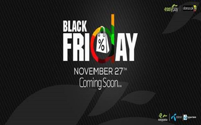 Easypay and Daraz.pk Bring you Black Friday The Biggest Sales Event of the Year