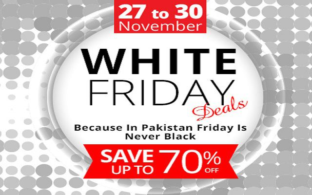 Home Shopping Introduces 'White Friday' in Pakistan