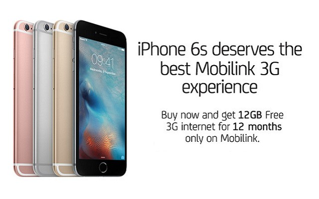 Mobilink Officially Launches iPhone 6s and iPhone 6s Plus