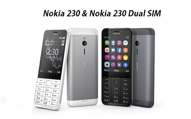 Microsoft Launches Nokia 230 & Nokia 230 Dual SIM: Internet-Enabled Feature Phones