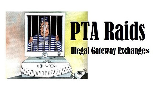 PTA Raides Illegal Gateway Exchanges in Pindi Bhattian and Hafizabad