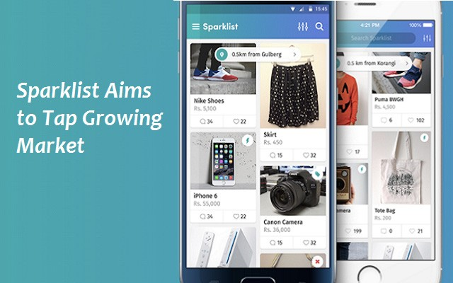 Sparklist Mobile Classifieds App Launched in Pakistan