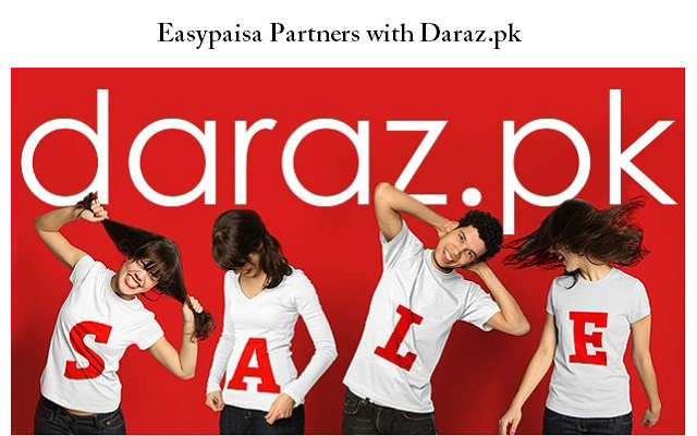 Easypaisa Partners with Daraz.pk for the Biggest Online Sale of the Year