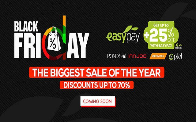 Daraz.pk Offers Flat 25% Discount on Infinix and Innjoo Phones on Black Friday