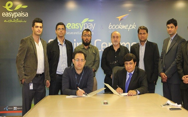 Easypaisa Signs Agreement with bookme.pk to buy Movie & Bus Tickets Online