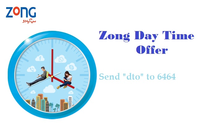 Enjoy 2GB Internet with Zong Day Time Offer