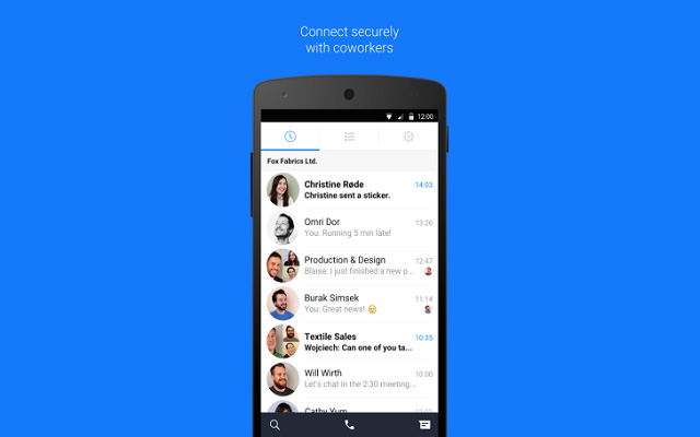 Facebook Launches Work Chat App For Facebook At Work