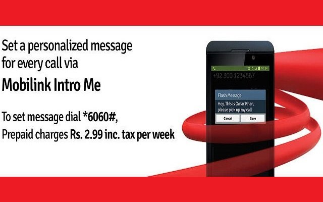 Mobilink Launches Intro Me Service - PhoneWorld