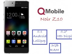 QMobile Launches an Incredible Smartphone Noir Z10