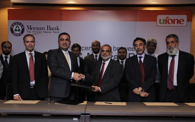 Ufone and Meezan Bank Collaborates to launch