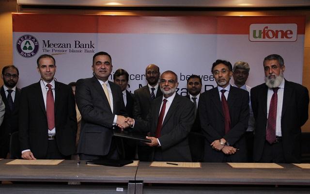 "Ufone and Meezan Bank Collaborates to launch ""Meezan-UPaisa"""