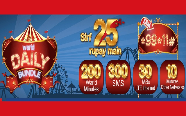 Warid Brings Daily Bundle Offer for its Prepaid Customers