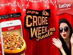 EatOye Crore Week Finale 2015 – Celebrate Year's End with Best of Crore Weeks