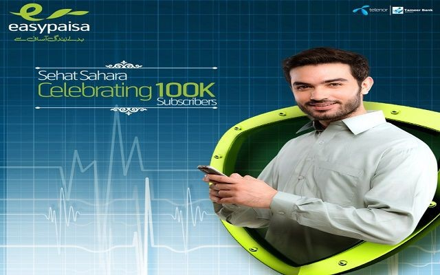 Easypaisa Mass Marker-Health Insurance Crosses More than 100K Subscribers