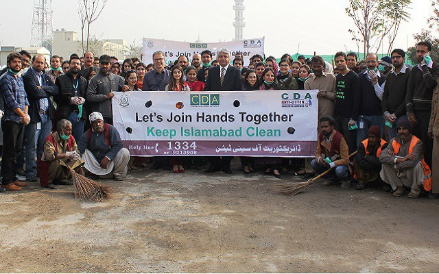 Telenor Pakistan in Collaboration with CDA Took City Cleanliness Initiative