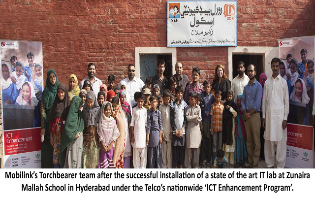 Mobilink Equips Marginalized Youth with Tools to Shape their Future