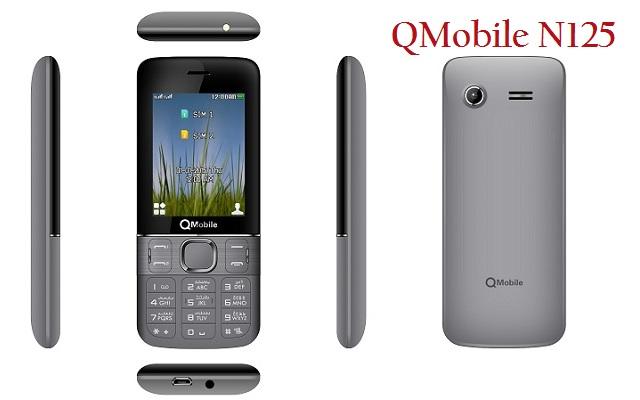 QMobile Introduces A Stylish Bar Phone N125