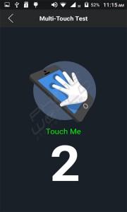 QMobile Noir i7i touch screen test
