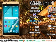 QMobile noir i7i Review