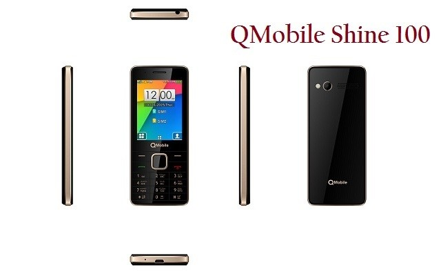 QMobile Launches An Incredible Bar Phone Shine 100