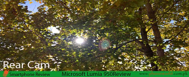 Microsoft Lumia 950-Rear camera