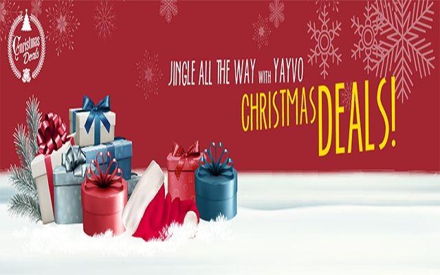 Christmas Deals Yayvo Announces the Best Discounts Across Pakistan
