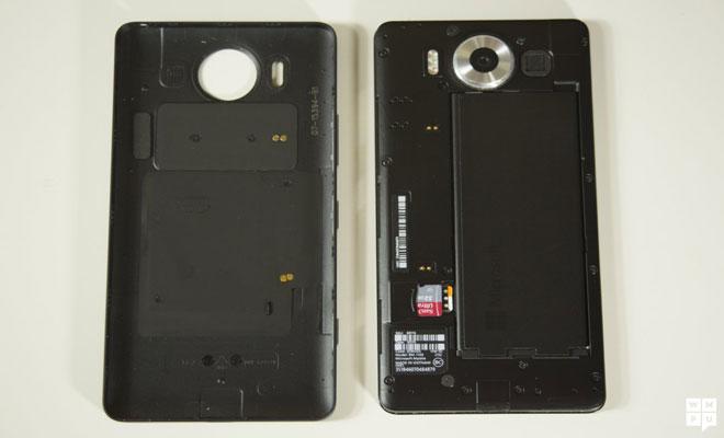 Microsoft Lumia 950-battery
